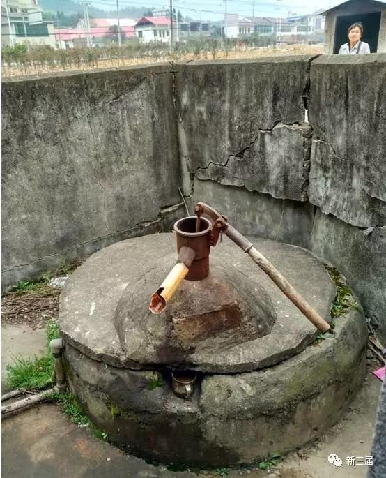 井,当年没有井盖和水泥围墙