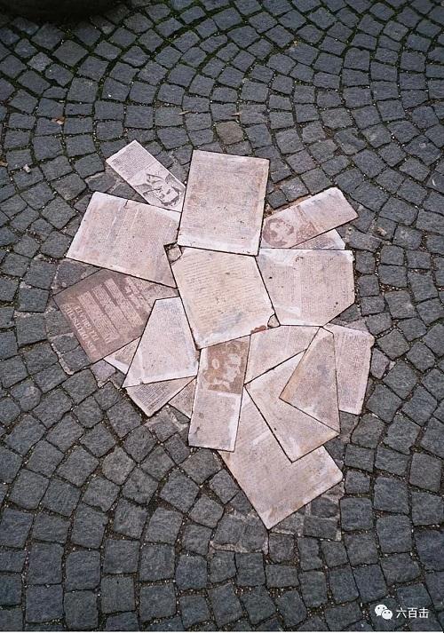慕尼黑大学门前的白玫瑰纪念碑