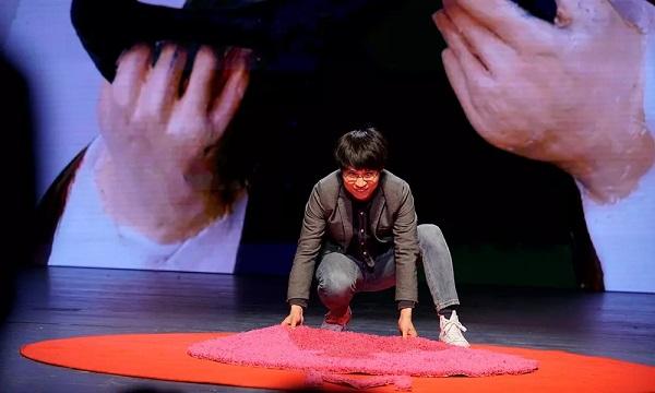 粉红的地毯
