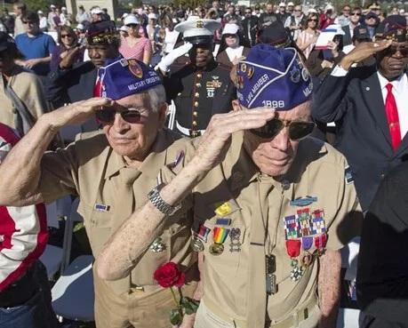 美国退伍军人节