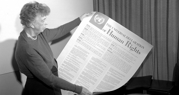 联合国大会在1948年通过世界人权宣言。联合国照片