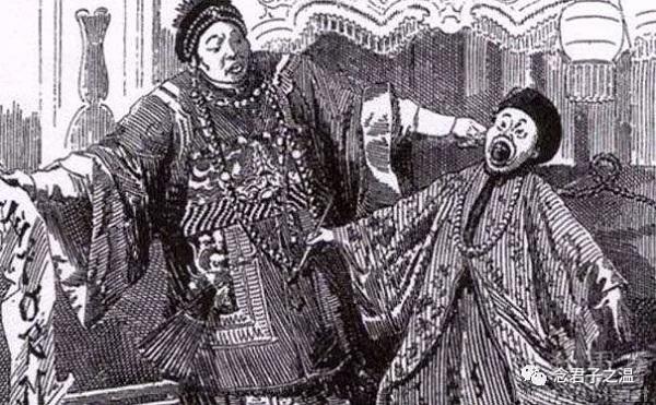 英国报纸上戊戌政变的政治漫画
