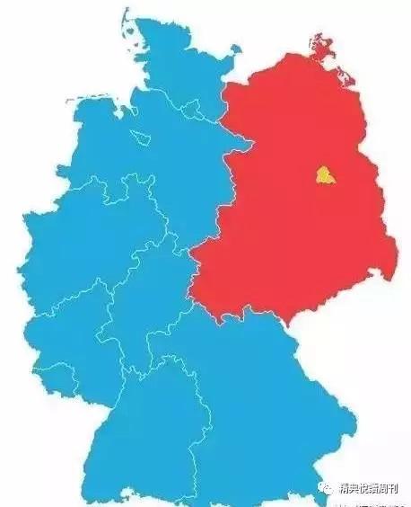 东西德与西柏林