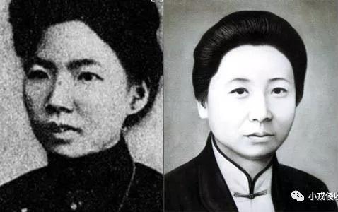沈佩贞(左)、唐群英(右)