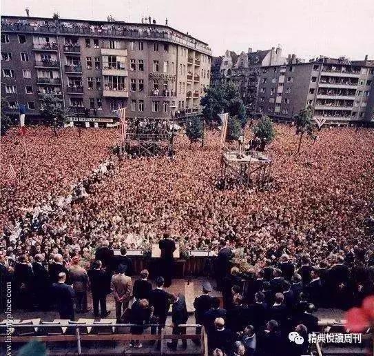 肯尼迪在西柏林演讲1