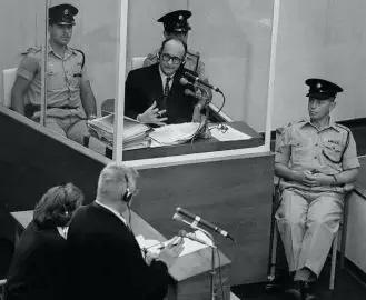 艾希曼在耶路撒冷受审
