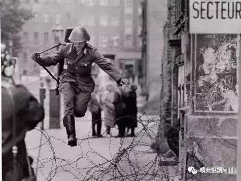 跨越柏林墙