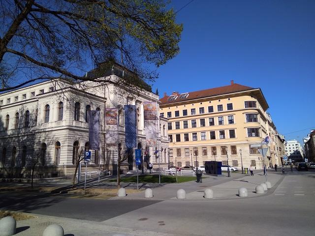 7.卢布尔雅那的国家美术馆外景
