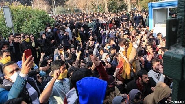 伊朗国内的骚乱局势