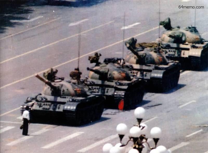 六四-王维林-坦克人