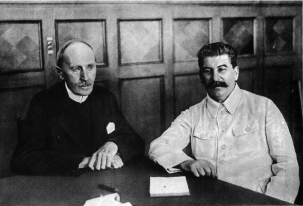 罗曼·罗兰和斯大林