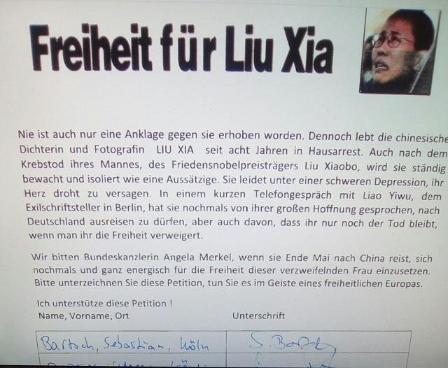 Wiesner petition