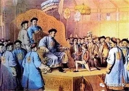 中国画家笔下的马噶尔尼和乾隆
