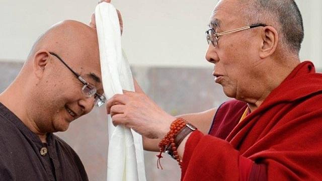 廖亦武、达赖喇嘛
