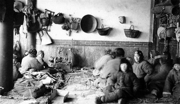 1920年代中国山东饥荒的难民
