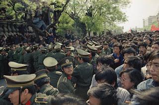 4月27日北京游行