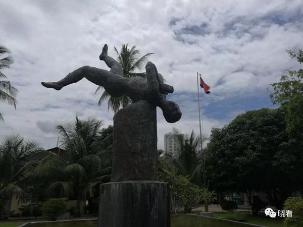 土斯廉的受害者纪念雕塑