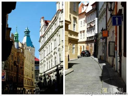 布拉格老城背街小巷