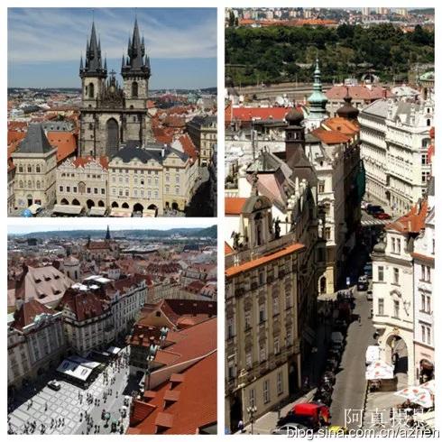 布拉格老城街景