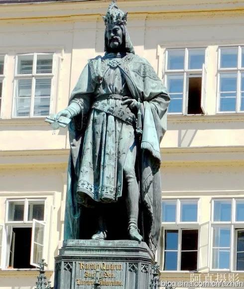 查理四世雕像