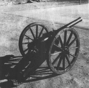 军队遗留在巴塘的大炮