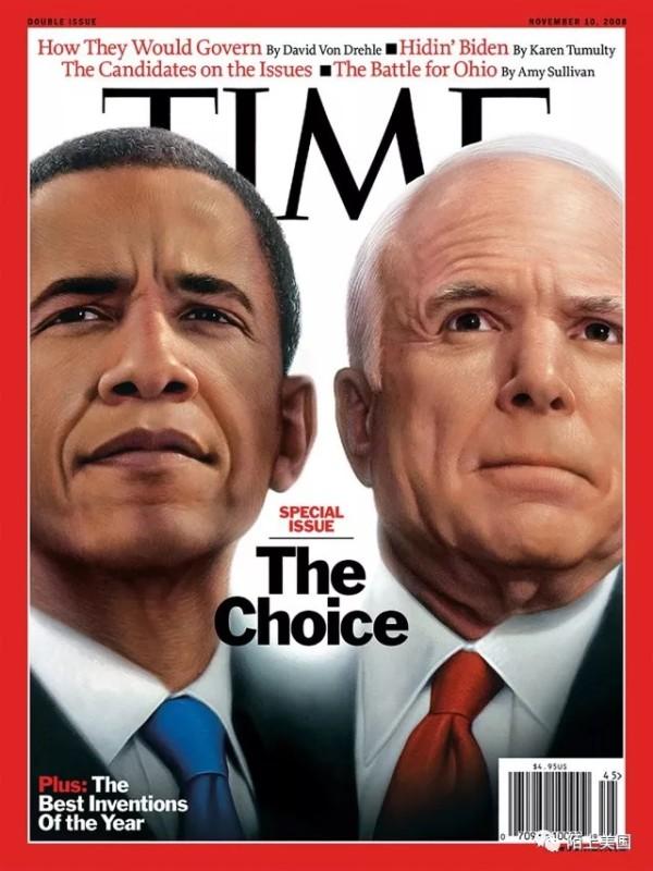 奥巴马、麦凯恩