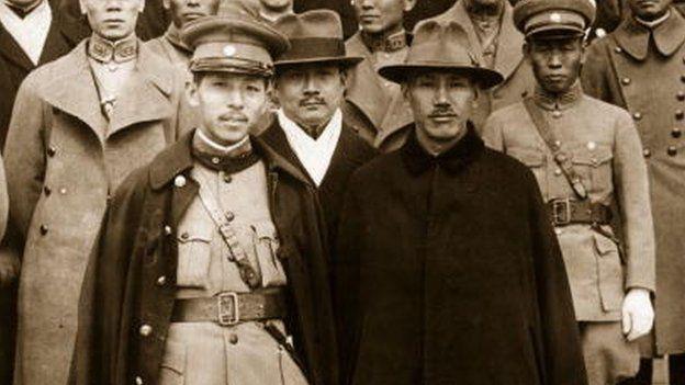 张学良、蒋介石