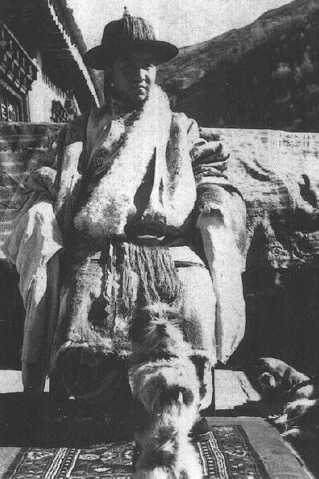 德格王多吉僧格的后人