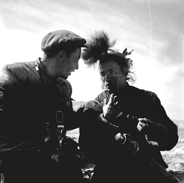 我父亲1956年拍摄的蓝志贵-1
