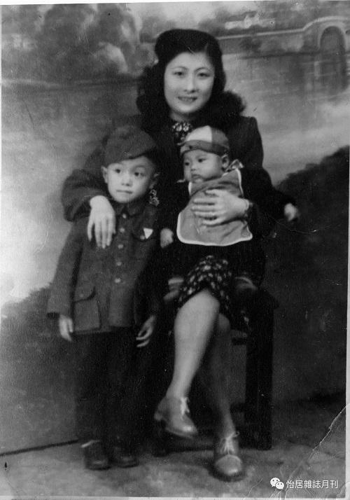 杨雨亭与母亲