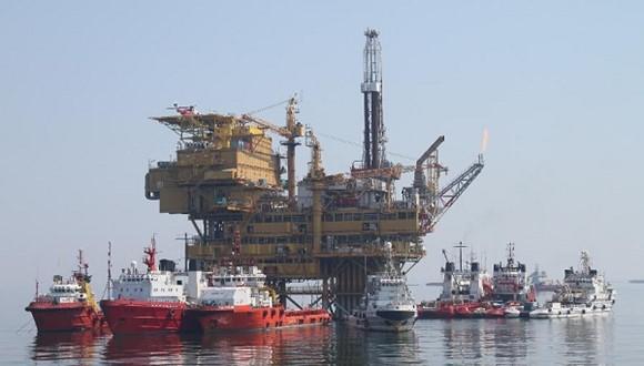 渤海蓬莱—3海上钻井平台