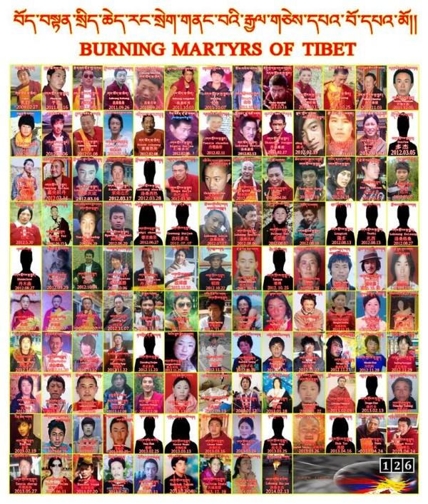 131位藏人自焚