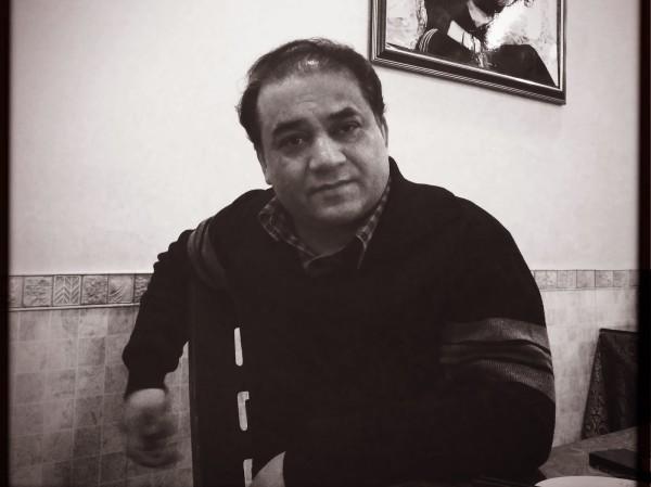 2014年被捕前一周的伊力哈木(王力雄拍摄)