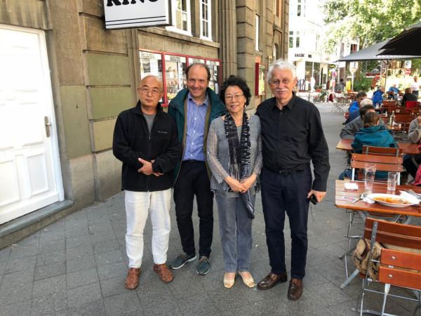 廖亦武、廖天琪、德国人权活动家赫尔穆特·斯特克尔